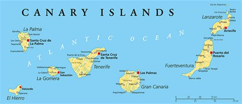 The 7 Canary Islands Uncovered - A Look At These Wonders ...