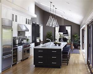 Glorious, Grey, Walls, Kitchen, Telling, Shades, Of, Neutral