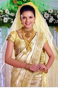 Traditional Kerala Christian Wedding Saree Dresses Weddings Eve