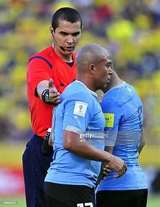 Brazilian Referee Ricardo Marques Ribeiro Gives