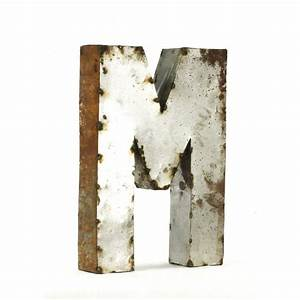 metal letter m small With metal letterpress letters