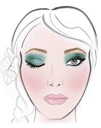 memakai eyeshadow makeup  makeover  roshima