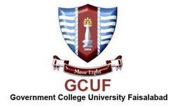 gc university faisalabad logos
