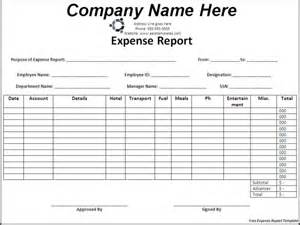 Travel Expense Sheet Template Basic Expense Report Template Helloalive