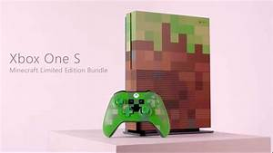 Xbox One S Minecraft Limited Edition Leaks Ahead Of