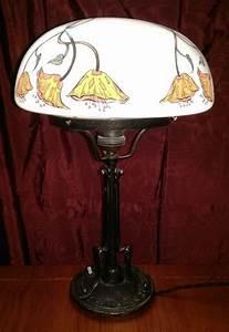 Lampe Auf Englisch : alte stil lampe weisser bemalter schirm antik m bel antiquit ten alling bei m nchen zwischen ~ Orissabook.com Haus und Dekorationen