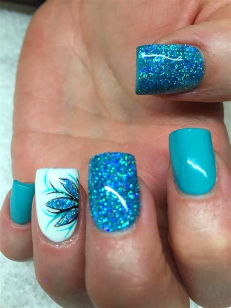 manicure with design blue nail manicure designs wehotflash