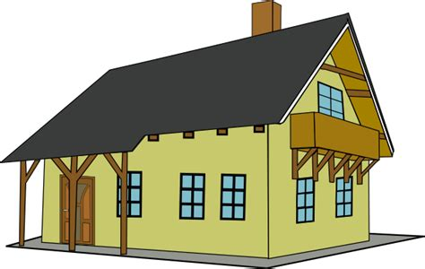 Free Cartoon Houses Clipart, Download Free Clip Art, Free