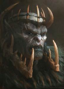 Orc King by Manzanedo on DeviantArt