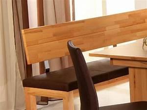 Sitzbank Küche Mit Lehne : bank luca 150cm mit lehne verschiedene varianten kernbuche sitzbank holzbank ebay ~ Indierocktalk.com Haus und Dekorationen