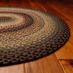 homespice decor cotton hearthstone braided rug at hayneedle