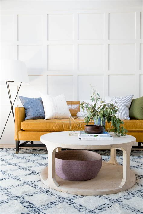 This may cause an effect of space to make the table look larger if viewed from the side of the flowers. How to Style a Round Coffee Table — STUDIO MCGEE
