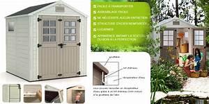 Abri Jardin Keter : abri de jardin pvc horizon 77 keter oogarden belgique ~ Edinachiropracticcenter.com Idées de Décoration