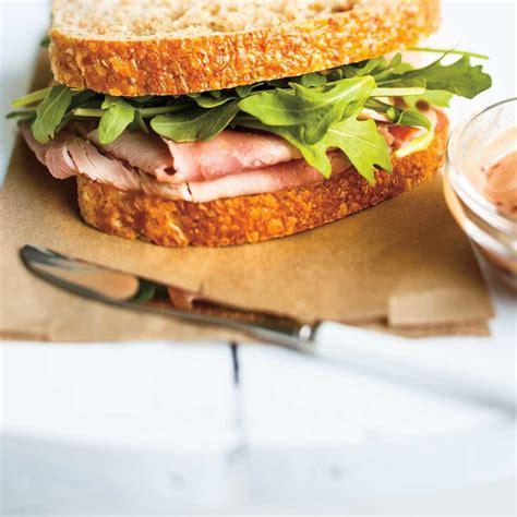 ricardo cuisine noel sandwichs au jambon bien garnis ricardo