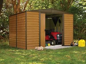 Abri De Jardin Arrow : abri de jardin arrow en acier galvanis 4m2 imitation bois ~ Dailycaller-alerts.com Idées de Décoration