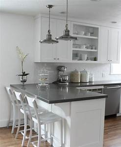 couleur peinture cuisine 66 idees fantastiques With maison grise et blanche 8 cuisine rouge mur couleur chaios