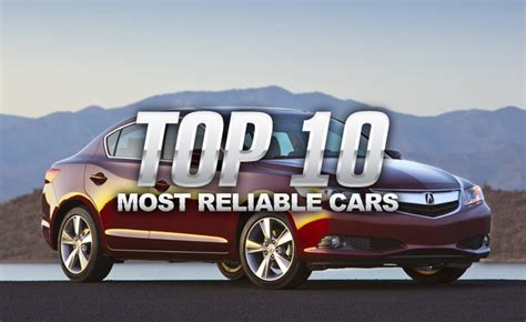 Top 10 Most Reliable Cars Of 2014 » Autoguidecom News