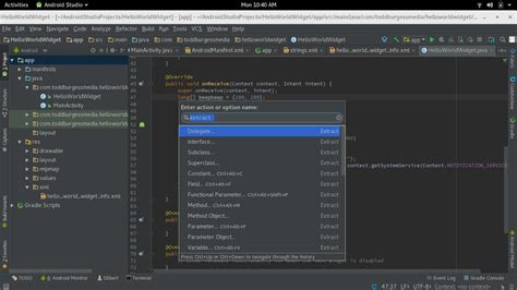 getting started with android studio getting started with android studio keyboard shortcuts