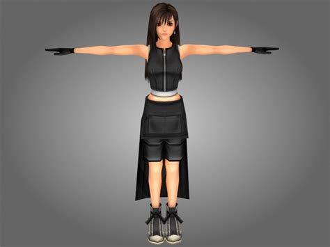 Fantasy Japanese Girl 3d Model 3ds Max Files Free Download