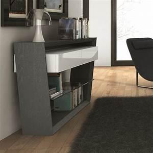 Console Entrée Design : console design 1 tiroir pure sur cdc design ~ Premium-room.com Idées de Décoration