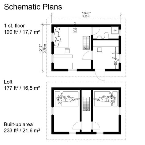 small cabin floor plans small gambrel roof house plans