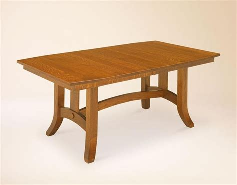 amish dining table with self storing leaves amish shaker hill trestle table trestle table amish and ps