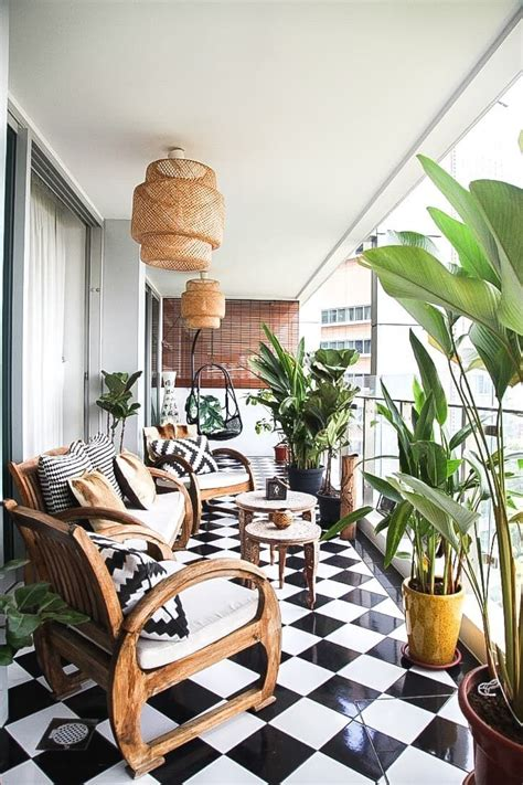 Outdoor Home Decor Ideas by A Stylish Personal Apartment In Singapore In 2019