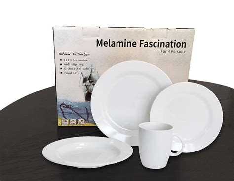 dishware melamine piece skid non rv bowls mugs plates ideal solid gift