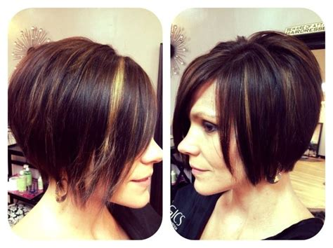 Chin Length Shattered Bob With Peek-a-boo Highlights