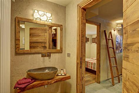 cuarto de bano rustico mejor imagen diseno casa