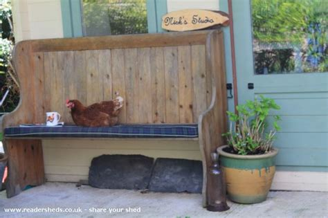 The Ladyshed Workshop Studio From Garden Owned