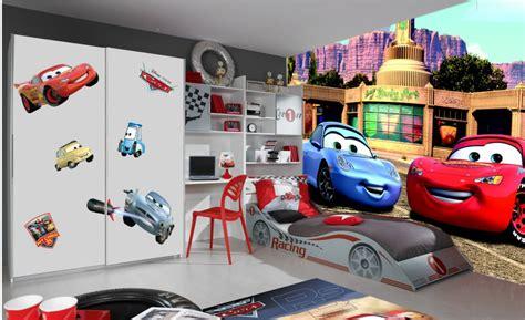 chambre bébé cars disney cars 2 poster papier peint 360x254 cm