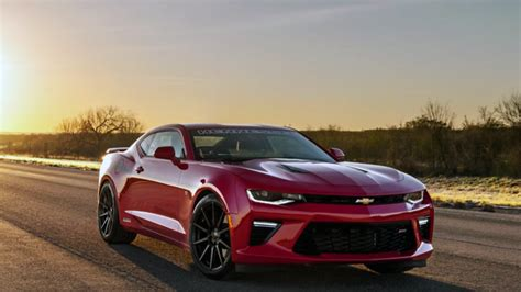 Watch Hennessey's Hpe750 Camaro Ss Hit 202 Mph