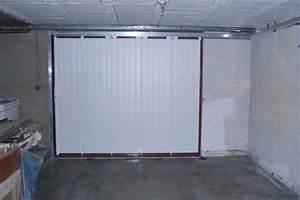 Poser Une Porte D Entrée En Rénovation : pose en r novation d 39 une porte de garage pont du ch teau ~ Dailycaller-alerts.com Idées de Décoration