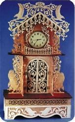 americas pride detailed clock patterns scrollsawcom