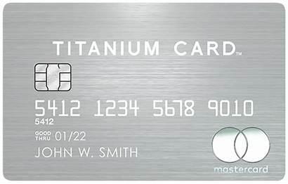 Card Titanium Mastercard Credit Luxury Cards Excellent