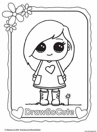 Coloring Pages Draw Printable Animal Popular Animals
