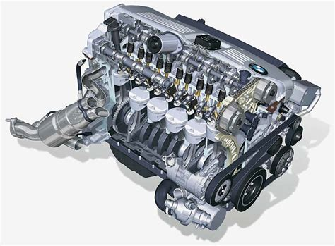 Bmw 3 Zylinder Motoren by Foto Bmw 6 Zylinder Motor F 252 R Den 3er Bmw Vergr 246 223 Ert