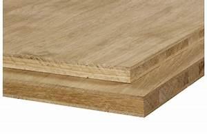 Planche Chene Massif : panneau 3 plis ch ne ~ Dallasstarsshop.com Idées de Décoration