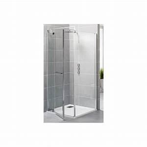 paroi de douche 90 cm gamme exclusive porte fixe kinedo With porte douche kinedo