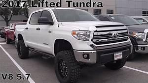2017 Custom Lifted Tundra SR5 V8 5.7 - YouTube