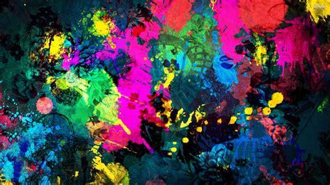 Sci Fi Wallpaper Hd Splatter Paint Wallpaper