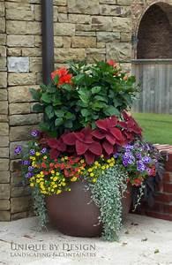 Large, Garden, Planters, Ideas, Photograph