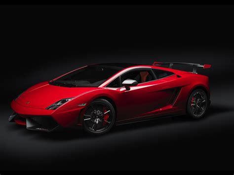 Lamborghini Black Background Cars Red Vehicles Wallpaper