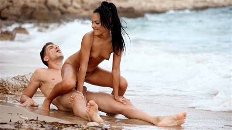 Spanish Teen Apolonia Fucking At The Beach