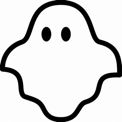 Ghost Icon Svg Clipart Halloween Icons Transparent