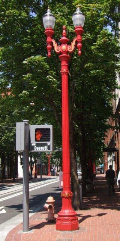 decorative street lighting road  lighting area