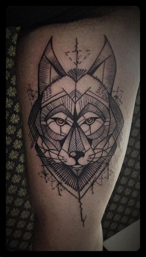 pin  john tyler  tattoo geometric wolf tattoo wolf tattoos tattoo designs
