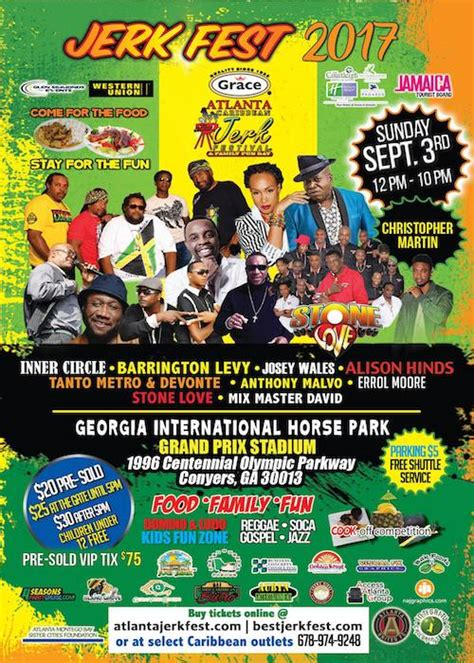 Atlanta Jerk Fest 2017 - reggaeville.com