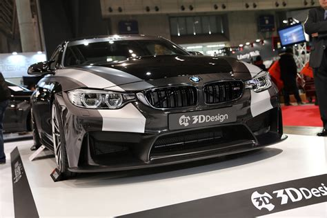3d Design Bmw by This Bmw M4 By 3d Design Stands Out At The 2016 Tokyo Auto